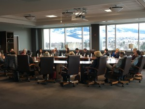 MWTC hosts a round table meeting for Montana businesses with Dr. Andy David.