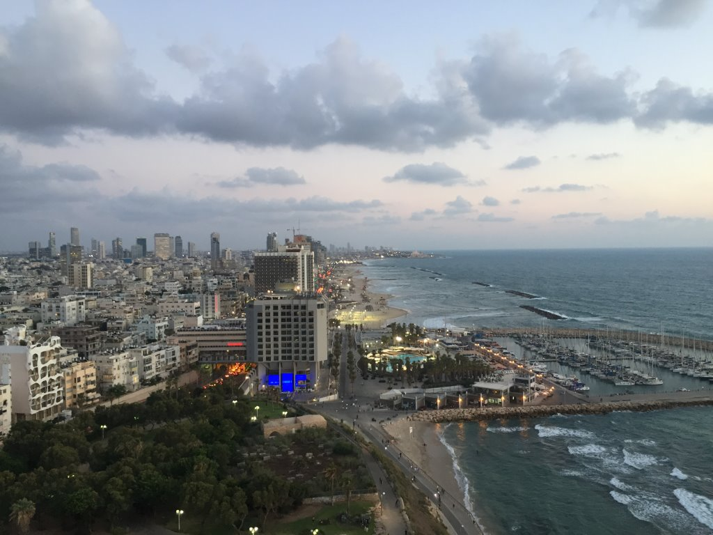 tel aviv beach skyline (2)
