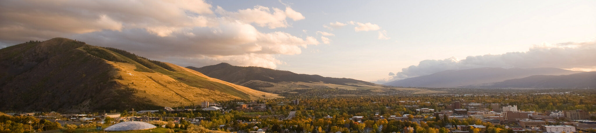 View of Missoula and Mt. Sentinel
