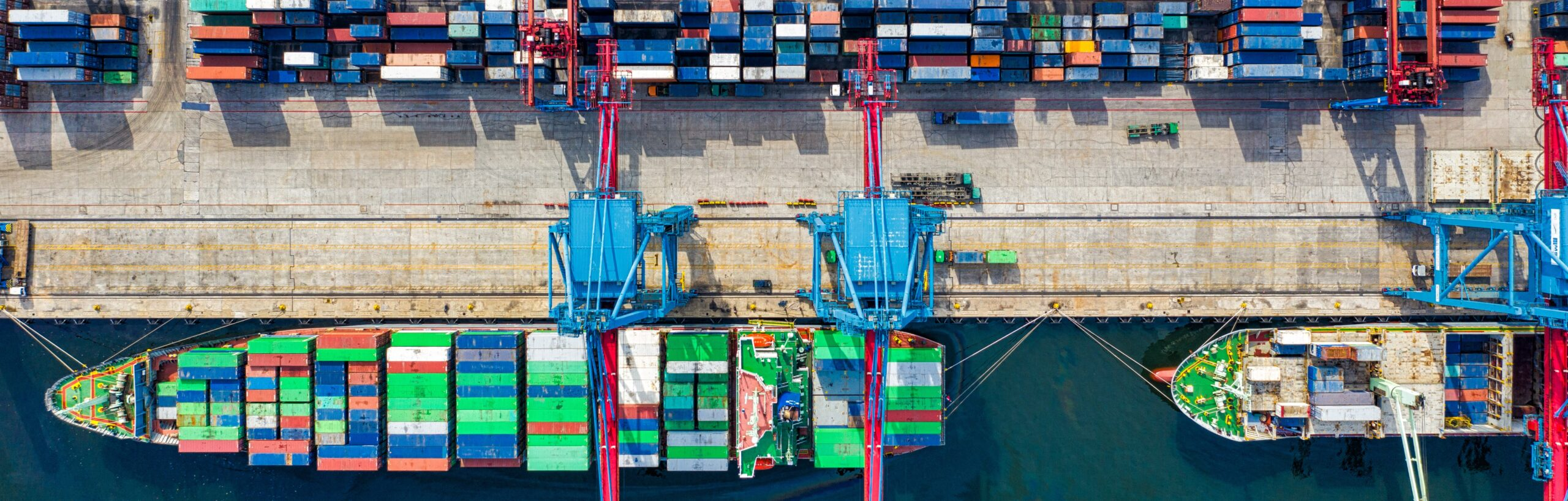 shipping containers and ships